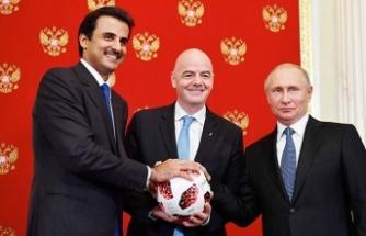 Rusya'dan Katar'a devir teslim