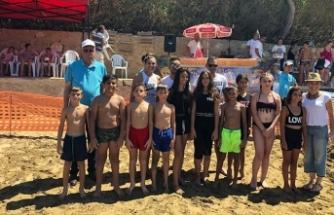 Girne Belediyesi Yaz Tatili Çocuk ve Gençlik Atölyeleri, Plaj Turnuvasıyla sona erdi