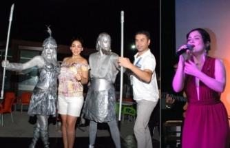 Yeniboğaziçi Belediyesi'nin düzenlediği Pulya Festivali renkli etkinliklere ev sahipliği yapıyor