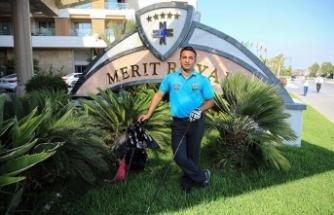 Birçok birinciliği olan Golfçü Emrah Şimşek, Turkish Airlines World Golf Cup'da 'Dünya Finali'ne girmeyi başardı