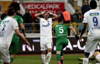 Fener Bursa'da dondu 1-1