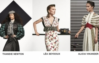 Louis Vuitton'un Pre-Fall 2019 koleksiyonunda, ünlü kadınlar yer aldı