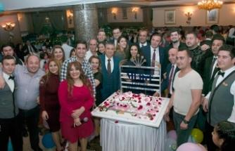 Merit Lefkoşa Hotel personeli, yılın yorgunluğunu eğlenerek attı