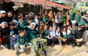Doğu Akdeniz Doğa İlkokulu Öğrencileri Kumyalı köyüne gezi düzenledi