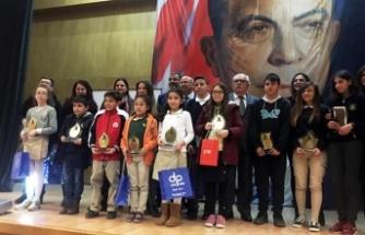 Doğu Akdeniz Doğa İlkokulu öğrencileri resim yarışmasında başarılı oldu