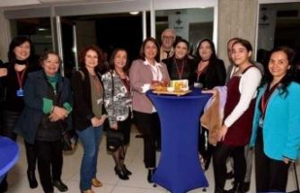 FODER'in Kültür Dairesi katkıları ile gerçekleştirdiği sergi, Cumhurbaşkanı Akıncı tarafından açıldı