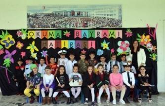 Yakın Doğu İlkokulu'nda Okuma Bayramı coşkuyla kutlandı