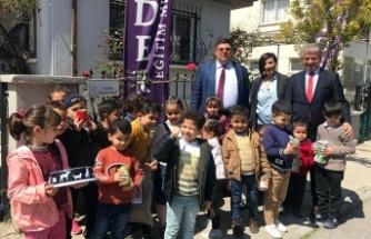 Lider Eğitim Merkezi öğrencileri Sokak Hayvanları için özel bir köşe hazırladı