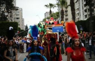 Portakal Çiçeği Karnavalı renkli görüntülere ev sahipliği yaptı