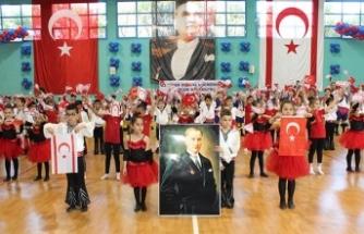 TED Kuzey Kıbrıs Koleji öğrencilerinin gösterileri beğeniyle izlendi