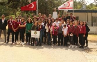 19 Mayıs 100'üncü Yıl Gençlik Kampı Kantara'da 50 izcinin katılımıyla gerçekleşti