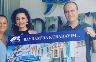 Demtur Travel'dan Küba tatili kazanan talihli İpek Gürsoy oldu