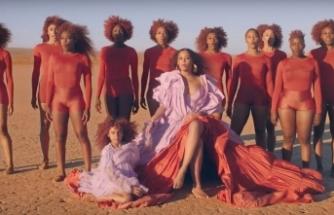 Beyonce'nin Spirit klibi bir moda şovuna dönüştü