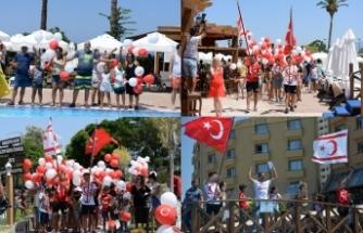 Merit Park Hotel'de 20 Temmuz büyük bir coşku ve etkinlikle kutlandı
