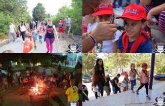 Atmosfer Preschool, Kantara'da öğrenciler ve ailelerine yönelik İzci Kampı düzenledi
