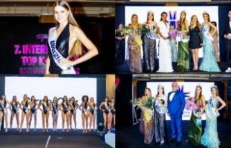 'International Top Model Of North Cyprus' yarışmasında birinciliği Avusturyalı Bardina aldı