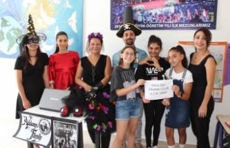 TED Kuzey Kıbrıs Koleji'nde seçim coşkusu yaşandı