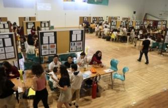 Levent Koleji öğrencileri birçok alanda hazırladıkları deneyleri sergiledi
