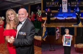 İngilizler, gazilere ve şehit ailelerine destek sağlamak amacıyla Merit Crystal'de etkinlik düzenledi