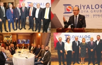 Diyalog gazetesinin 6'ıncı, Diyalog TV'nin de 5'inci yılı yoğun bir katılımla kutlandı
