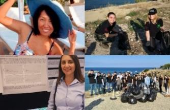 Evkaf İyilik Gönüllüleri ve Girne Üniversitesi Tıp Fakültesi öğrencileri temizlik kampanyası düzenledi