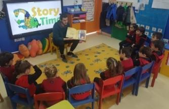 The American Nursery School'da velilerin de katılımıyla etkinlik gerçekleştirildi