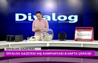 Diyalog Gazetesinin düzenlediği Kış Kampanyasının 8'inci hafta çekilişi yapıldı