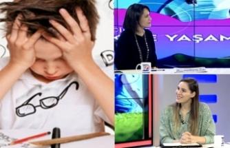 Beliz Köroğlu çocuklarda özgül öğrenme güçlüğü (disleksi) problemini Diyalog okurları için anlattı