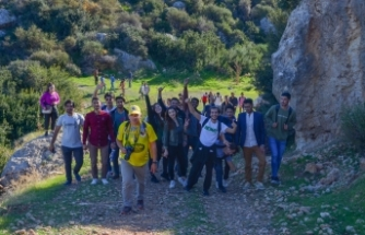 LAÜ öğrencileri Yeşilırmak ve Bademliköy'ün güzelliklerine hayran kaldı
