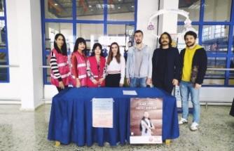 LAÜ öğrencileri kan bağışı kampanyası düzenledi