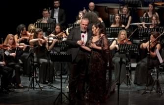 Cumhurbaşkanlığı Senfoni Orkestrası'nın Sevgililer Günü konseri gerçekleştirildi