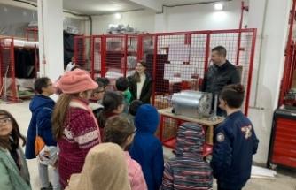 Özay Günsel Çocuk Üniversitesi Öğrencileri 'GÜNSEL Üretim Tesislerini' gezdi