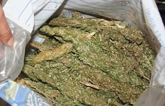 72 kilo uyuşturucu ele geçirildi