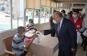 Büyükelçi Başçeri, Bakan Sucuoğlu ile birlikte Lapta Huzurevi'ne ziyaret gerçekleştirdi
