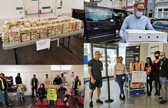 Kıbrıs Türk Toplum Birliği, yardım eli uzatmak amacıyla çalışmalarda bulundu