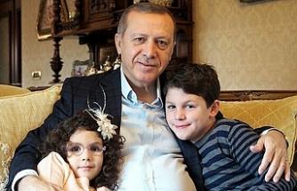 Erdoğan'ın 8'inci torun sevinci