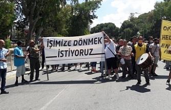 İşçi eylemi Tatar'ı kızdırdı