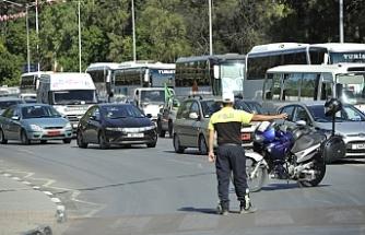 KKTC'de 1 hafta'da 39 trafik kazası meydana geldi