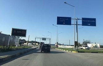 Girne –Alsancak yolu nihayet başladı