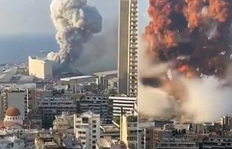 Beyrut'ta büyük felaket