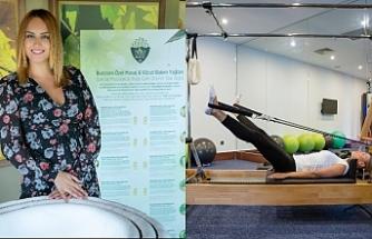 Merit Royal misafirlerine reformer pilates hizmeti sunuyor
