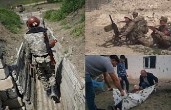 Ermenistan- Azerbaycan savaşı sürüyor