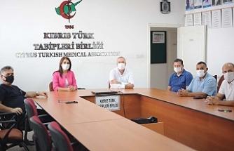 KTFF'den Tabipler Birliği'ne ziyaret
