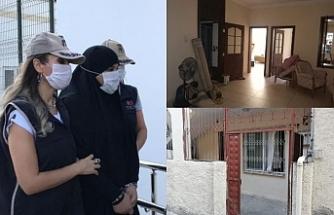 DEAŞ'lı kadın teröristin gizli hücresi