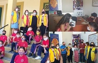 Esentepe İlkokulu'nda göz taraması gerçekleştirildi