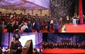 GAÜ 34'üncü dönem mezunları diplomalarını aldı