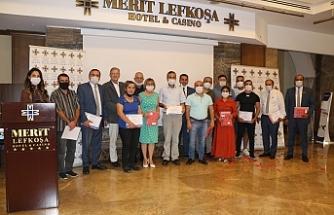 Merit Lefkoşa Hotel 12'nci hizmet yılını personeliyle bir araya gelerek kutladı
