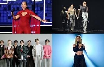 BTS; En İyi Şarkı, Grup, Online Performans ve Hayranlar kategorilerinde zirvede