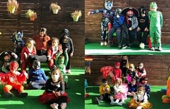 Arı Kovanı Kreş ve Anaokulu'nda kostüm partisi düzenlendi
