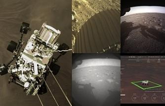 Mars'tan yeni fotoğraflar